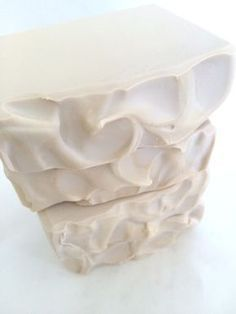 Creamy Coconut Soap using heavy cream.