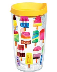 Enjoy all the tastes of summer; this design can't be licked when it comes to keeping drinks hotter or colder longer