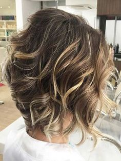 Shoulder  length hairstyles ideas 2017 2018 spiked out