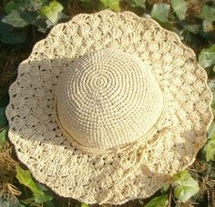 Ravelry: Summer Sunhat pattern by Martina Supova Crochet Summer Hats, Crochet Cap, Sombrero A Crochet, Easy Crochet Patterns, Crochet Accessories, Sun Hats, Crochet Clothes, Crochet Projects, Knitted Hats