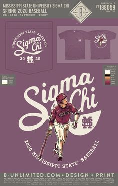 Sigma Chi Baseball Shirt | Fraternity Event | Greek Event #sigmachi #machi Sigma Chi, Chi Chi, Mississippi State, Greek Clothing, Baseball Shirts, Fraternity, All Design, Custom Clothes, Greek Outfits