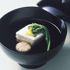 鮭しんじょと菊菜のお吸い物の作り方|料理レシピ[ボブとアンジー] ... しんじょのお吸い物 ...