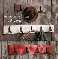 Railroad Spike Coat Racks  |  Wild Wings