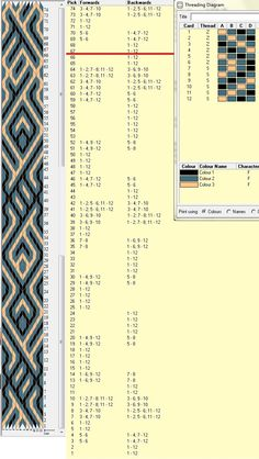 Diseño 12 tarjetas, 3 colores, repite dibujo cada 66 movimientos