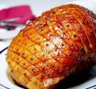 Let this honey-glazed ham decorated with aromatic herbs double as your Christmas table centrepiece before carving thick slices. Christmas Ham Glaze, Xmas Ham, Christmas Ham Recipes, Christmas Dishes, Christmas Cooking, Holiday Recipes, Dinner Recipes, Gammon Recipes, Pork Recipes
