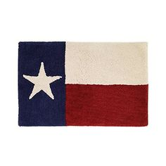 Your Southern Pride Shines Bright With This Texas Star Bath Rug.