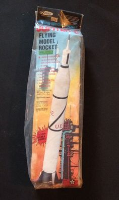 Vintage Estes Jupiter-C # 1976 Flying Model Rocket unopened #Estes