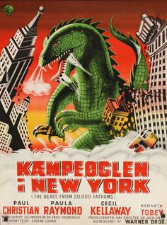 Kæmpeøglen i New York (The Beast fra 20.000 Fathoms)