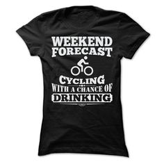 WEEKEND FORECAST CYCLING T SHIRTS