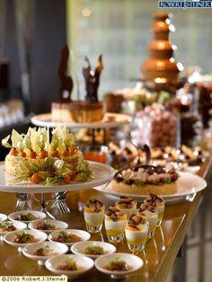 love the gooseberry cake and the mini dessert shots