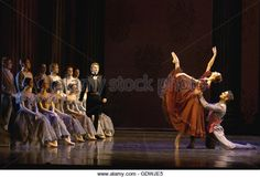 Onegin, ballet in three acts by John Cranko - Stock Image
