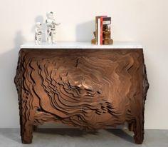 modern wood cabinet by susanna