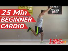 25 Min Beginner Cardio Workout at Home – Low Impact Cardio Exercises – Easy Aerobic Workouts  Video  Description Unlock rewards and help keep HASfit free by donating now –  This 25 minute beginner cardio workout is a perfect place to start your fitness journey. The low impact... - #Vidéos