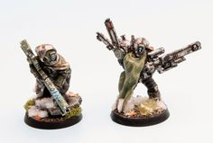 Tau Drop Troops - Page 19 Warhammer Figures, Warhammer Models, Warhammer 40k Miniatures, Warhammer 40000, Mini Paintings, Cool Paintings, Tau Army, 40k Armies, Sci Fi Miniatures
