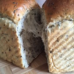 My Mind Patch: Black Sesame Seed Bread 黑芝麻吐司