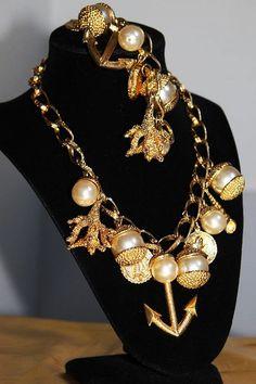 DOMINIQUE AURIENTIS Unsigned Haute Couture by MyJewelsBoutique