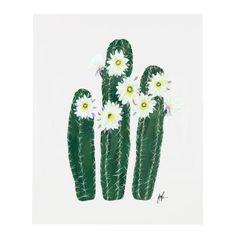 Flowering Cacti VI Print – Our Heiday