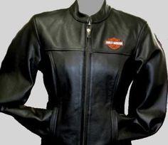 Harley Davidson Womens Stock Leather Jacket 2W