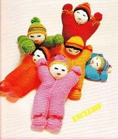 Petites poupées....très facile à réaliser...
