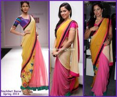 nice simple saree