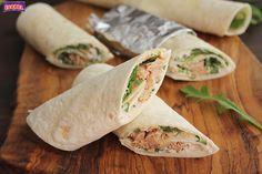 Wraps de queso, rucula y atun (1)