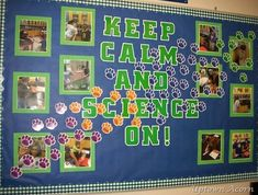 Keep calm and enjoy some awesome bulletin boards ;) #EdChat  Find more great boards here: itslearning.com/program/teachers-lounge/