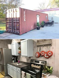 Texas Shipping Container Home (320 sq ft)