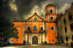 St Augustine Church in HDR in Intramuros in Manila, Philippines. This is a UNESCO site.