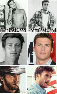 Clint makes good looking babies!