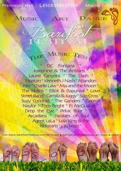Barefoot Festival 2014,band selection & stage management
