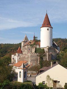 Křivoklát Castle, Central Bohemian Region of the Czech Republic.