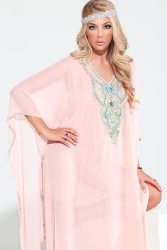 "The ""Asma"" Yara Yosif Kaftan / Caftan dress . order from YaraYosif.com ."