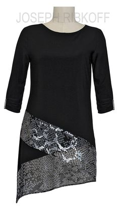 Joseph Ribkoff Tunic Top.  New at Aspirations.  Enquiries 03 95932007