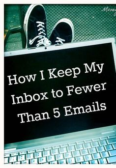 For real! Here's how to never have an overloaded inbox again... this post is packed with helpful email management tips!