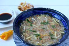 Veggie Recipes, Soup Recipes, Japchae, Food To Make, Delish, Veggies, Homemade, Snacks, Meals