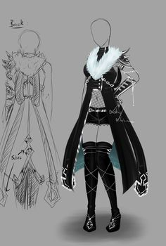 Outfit design - 143 - closed by LotusLumino on DeviantArt