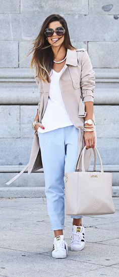 Baby Blue And Pink Styling by TrendyTaste