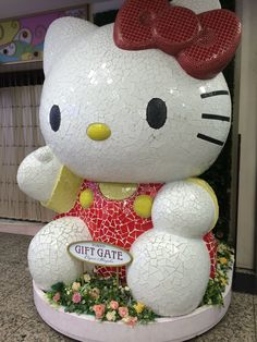Largest Hello Kitty monument in Tokyo