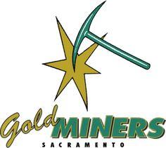 The Sacramento Gold Miners were a Canadian football team based in Sacramento, California. Canadian Football League, Football Team, Gold Miners, Pin Logo, Sacramento California, Sports Logos, Hornet, Spirit, Canada