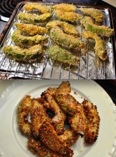 Heavenly AND Healthy Delicious Dish: BAKED Avocado Fries (Low GI)