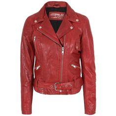 Jofama - Retro Woman Jacket 436832 ($530) ❤ liked on Polyvore