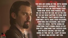 Discover and share the most famous quotes from the TV show This Is Us. Favorite Quotes, Best Quotes, Most Famous Quotes, Movie Club, Milo Ventimiglia, Healthy Marriage, Tv Show Quotes, This Is Us Quotes, Meaningful Words