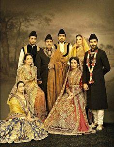 "High Fashion Pakistan — Ali Xeeshan's ""The Royal Family Portraits"""