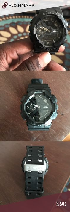 G- Shock Men Sports Watch Nice G-Shock Watch  Excellent Condition!!! I Do Not Sell Fake Stuff!! Worn A Few Times, But Still Pretty Much New. G-Shock Accessories Watches