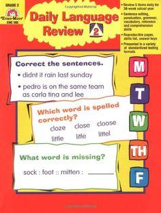 daily grammar warm ups 4th grade pdf