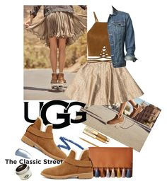 """""""The New Classics With UGG: Contest Entry"""" by iraavalon ❤ liked on Polyvore featuring shu uemura, UGG, Rebecca Minkoff, rag & bone, Eddie Bauer, Estée Lauder, Yves Saint Laurent and ugg"""