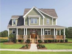 Craftsman House Plan with 2490 Square Feet and 4 Bedrooms(s) from Dream Home Source | House Plan Code DHSW41890