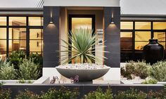 House and Land Packages Perth WA Industrial Home Design, Industrial House, Exotic Homes, Luxury Homes, Modern Door, Modern Rustic, Innovative Architecture, Architecture Design, Porches