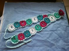 Cinto en crochet con anillas de aluminio reciclado! #samanthacreaciones