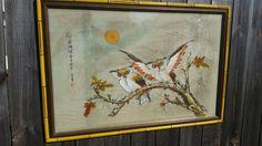 GORGEOUS Antique / Vintage Oriental Owl by sistersvintageattic